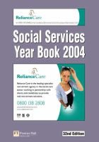 Social Services Year Book (Hardcover, 32Rev ed): Social Services Committee