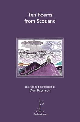 Ten Poems from Scotland (Pamphlet): Don Paterson