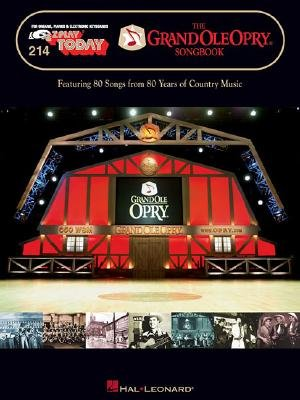The Grand Ole Opry Songbook (Paperback): Hal Leonard Corp