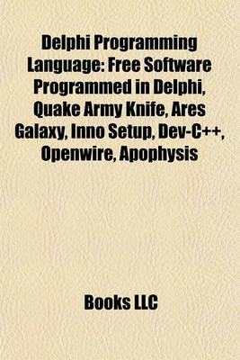 Delphi Programming Language - Free Software Programmed in