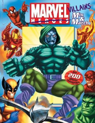 Marvel Villains Mix & Match (Hardcover): David Roe