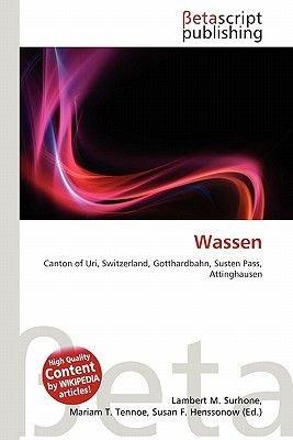 Wassen (Paperback): Lambert M. Surhone, Mariam T. Tennoe, Susan F. Henssonow