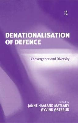 Denationalisation of Defence - Convergence and Diversity (Electronic book text): Janne Haaland Matlary, Oyvind Osterud
