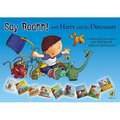 Harry and the Dinosaurs Flat Poster (Other point of sale):