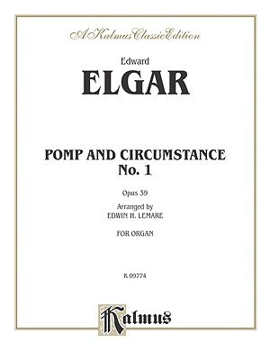 Pomp and Circumstance No. 1 in D, Op. 39 - Sheet (Paperback): Alfred Publishing
