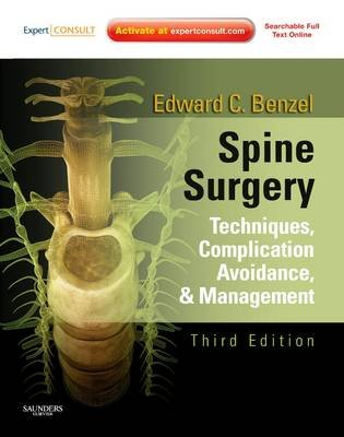 Spine Surgery 2-Vol Set - Techniques, Complication Avoidance, and Management (Expert Consult - Online) (Electronic book text,...