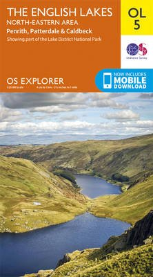 Lakes NE (Sheet map, folded, August 2016 ed): Ordnance Survey