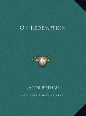 On Redemption (Hardcover): Jacob Boehme