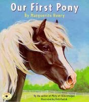 Our First Pony (Paperback, 1st Aladdin Paperbacks ed): Marguerite Henry