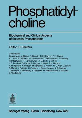 Phosphatidylcholine - Biochemical and Clinical Aspects of Essential Phospholipids (Paperback, Softcover reprint of the original...