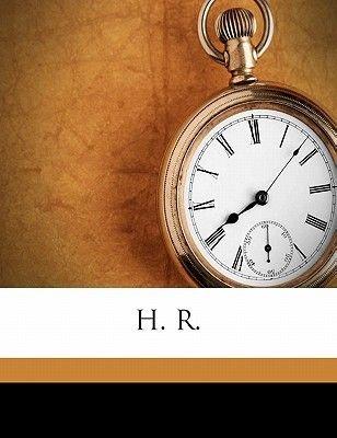 H. R. (Paperback): Edwin Lefevre