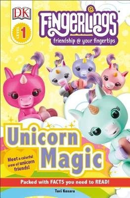 DK Readers Level 1: Fingerlings Unicorn Magic (Paperback): Tori Kosara