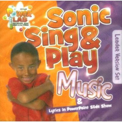 Sonic Sing & Play Music: Leader Version Set (CD, Leader): Group Publishing