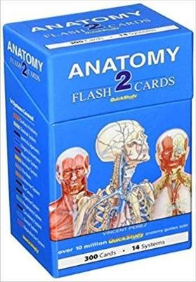 Anatomy 2 Flash Cards - a QuickStudy reference tool (Cards): Vincent Perez