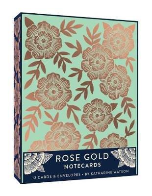 Rose Gold Notecards (Cards): Katharine Watson