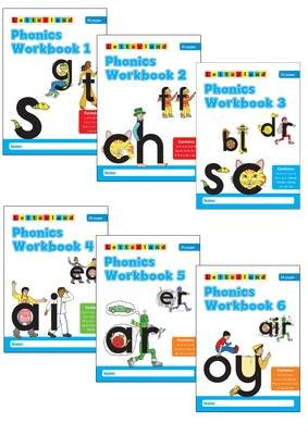 Phonics Workbooks (1-6) (Staple bound): Stamey Carter, Lyn Wendon