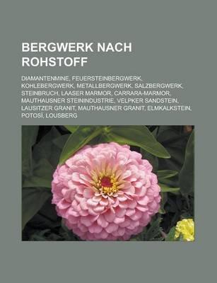 Bergwerk Nach Rohstoff - Diamantenmine, Feuersteinbergwerk, Kohlebergwerk, Metallbergwerk, Salzbergwerk, Steinbruch, Laaser...