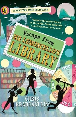 Escape from Mr Lemoncello's Library (Paperback): Chris Grabenstein