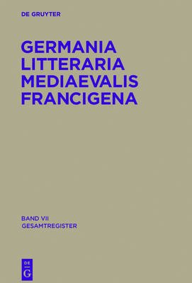 Gesamtregister (German, Electronic book text): Rene Perennec, Geert Henricus Marie Claassens, Fritz Peter Knapp