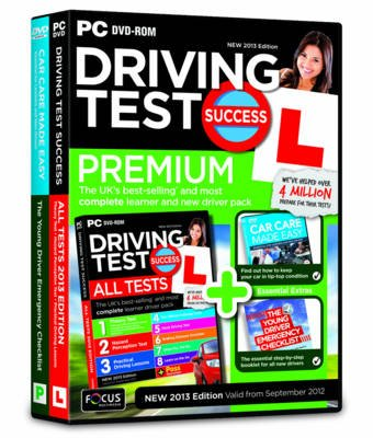 Driving Test Success All Tests Premium 2013 (DVD-ROM, Revised edition):