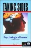 Clashing Views on Controversial Psychological Issues (Paperback): Brent D. Slife