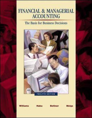 Financial and Managerial Accounting: With Revised Student CD-ROM, NetTutor and PowerWeb Package (Hardcover, 12th Revised...