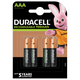 Duracell Rechargeable Precharged AAA Batteries with Duralock (4 Pack):