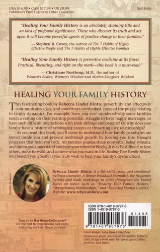 healing your family history hintze rebecca