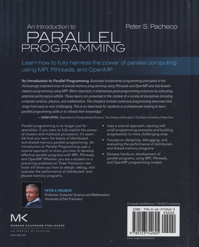 An Introduction to Parallel Programming (Hardcover): Peter Pacheco