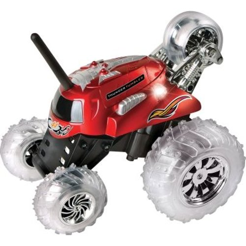 Thunder Tumbler 360 Monster Remote Controlled Rally Car Red