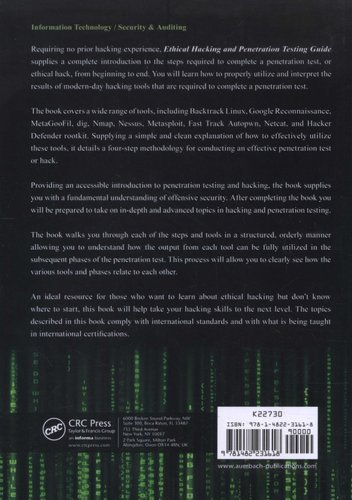 Ethical Hacking and Penetration Testing Guide (Paperback