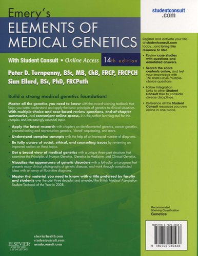 Emerys Elements of Medical Genetics: With Student CONSULT Online Access