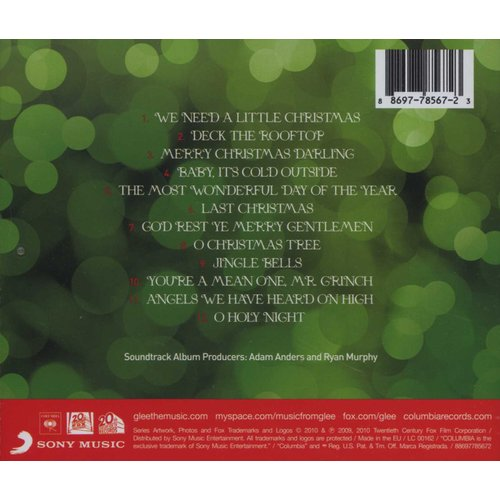 The Cast of Glee - The Christmas Album (The Music) (CD) | Books | Buy online in South Africa ...