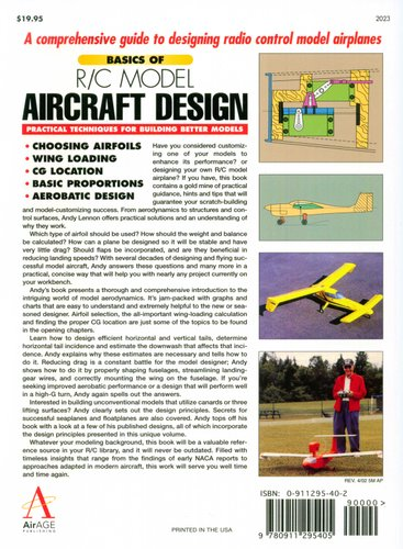 Basics of Model Aircraft Design - Practical techniques for building