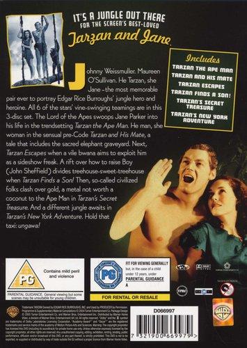 The Tarzan Collection - 6-Movie Box Set (DVD, Boxed set