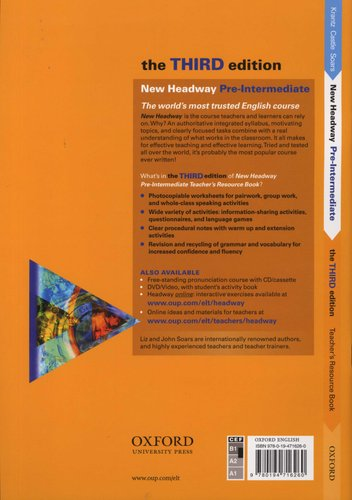Headway Pre-intermediate Third Edition Students Book