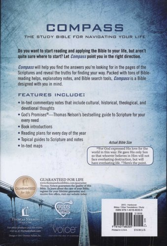 The Voice, Compass Study Bible - The Study Bible for