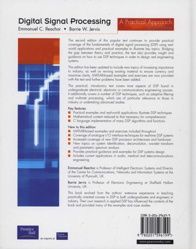 Digital Signal Processing - A Practical Approach (Hardcover