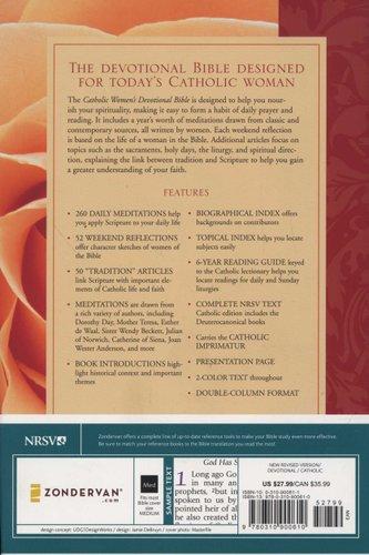 Catholic Women's Devotional Bible (Hardcover): Ann Spangler