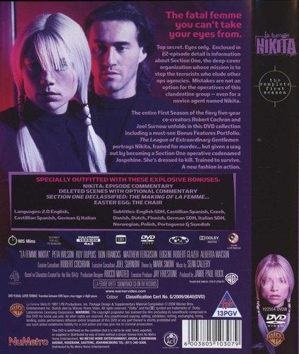 La Femme Nikita - Season 1 (DVD, Boxed set): Peta Wilson