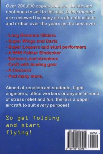 The Best Advanced Paper Aircraft Book 1 - Long Distance