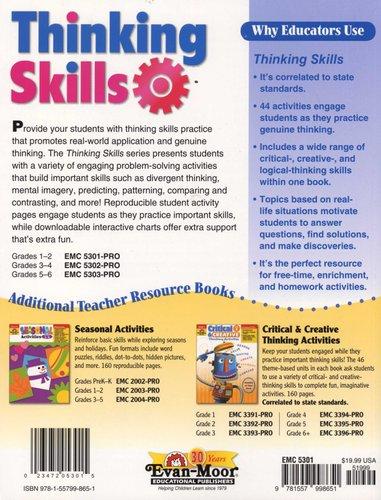 Thinking Skills, Grade 1-2 - Grade 1 - 2 (Paperback, Teacher