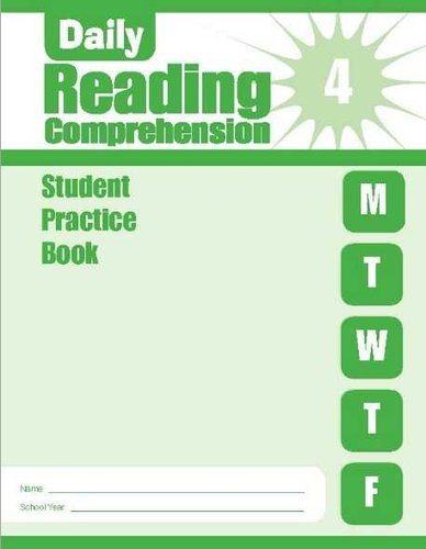 Daily Reading Comprehension Grade 4 Student Edition 5 Pack