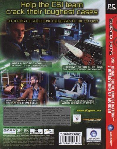 CSI - 3 Dimensions Of Murder (PC, DVD-ROM) | Games | Buy online in