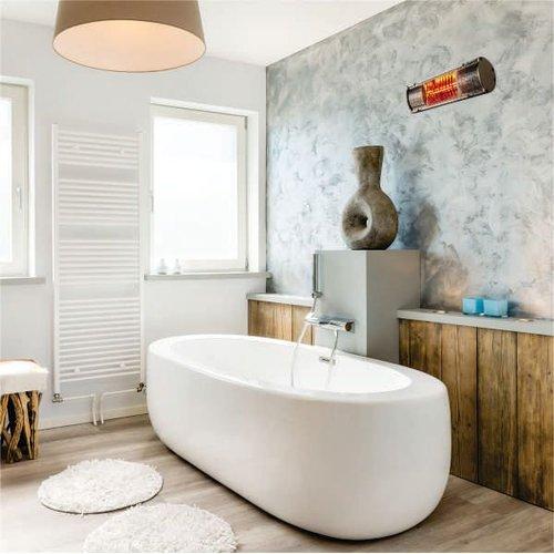 Technilamp Infrared Bathroom Heater (850W) | Kitchen ...