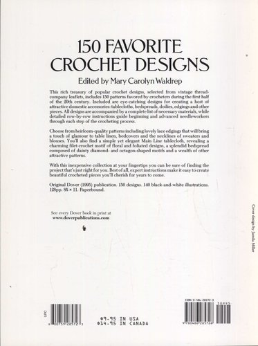 150 Favorite Crochet Designs (Paperback): Mary Carolyn