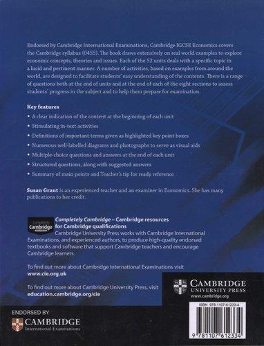 Cambridge International IGCSE Cambridge IGCSE Economics