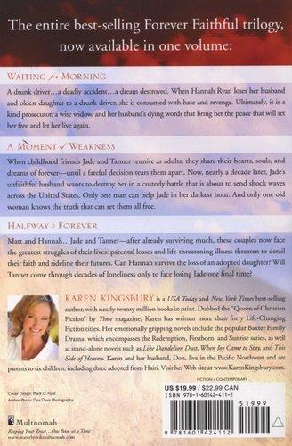 Forever Faithful The Complete Trilogy Paperback Karen Kingsbury