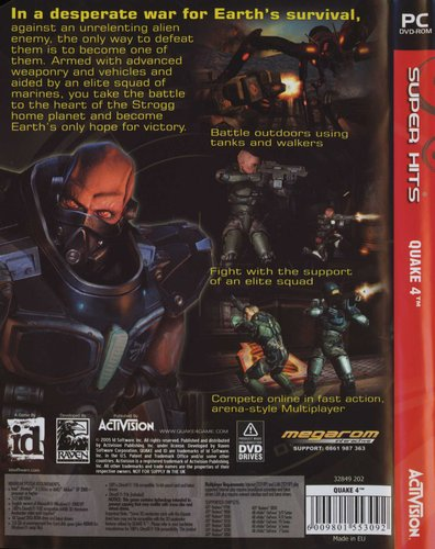 Quake 4 (PC, DVD-ROM) | Games | Buy online in South Africa