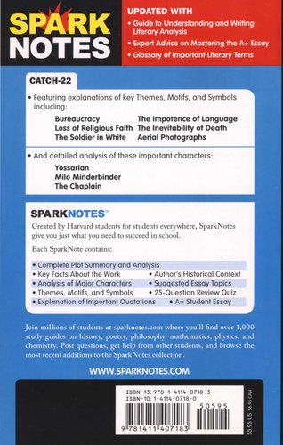 CATCH 22 SPARKNOTES PDF DOWNLOAD